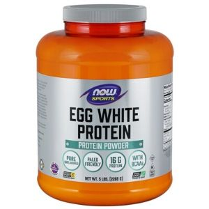 Now Sports Nutrition, Egg White Protein