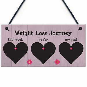 Weight Progress Plaque