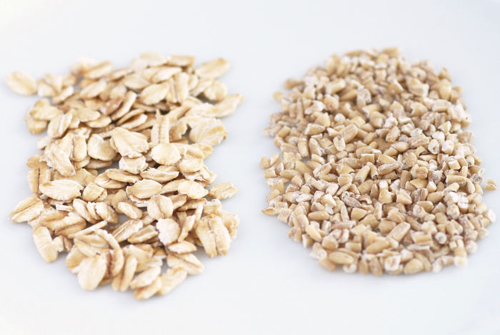 Rolled oats vs steel-cut oats