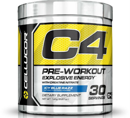 Cellulor C4 Preworkout Review