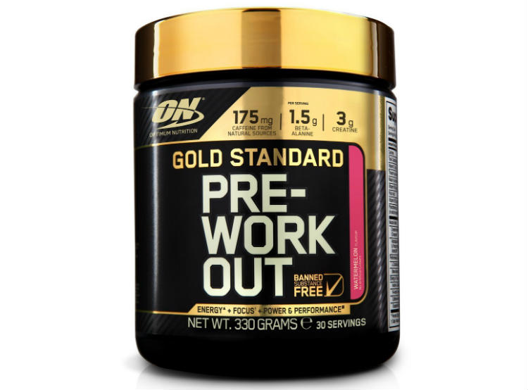 Gold Standard Preworkout review