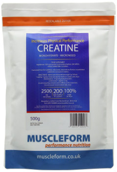 Creatine Powder Builds Muscle