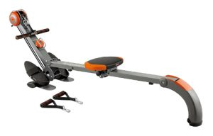 Rowing machine for bodybuilders