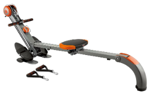 Cheap fold away rower machine