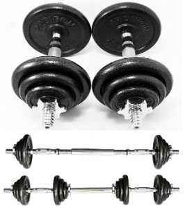 PROIRON Adjustable Dumbbell Set
