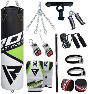 RDX Punch Bag with Accessories