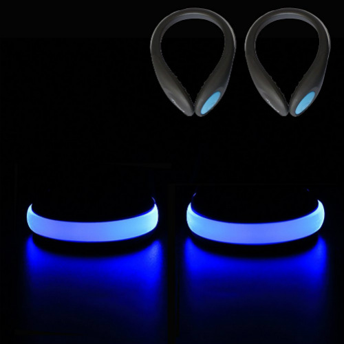 LED Reflective Runners Shoe Clips