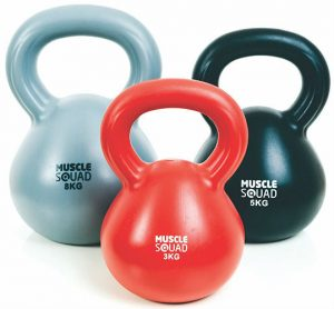Muscle Squad Kettlebell Set