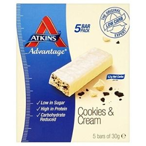 Atkins Cookie and Cream Protein Bars